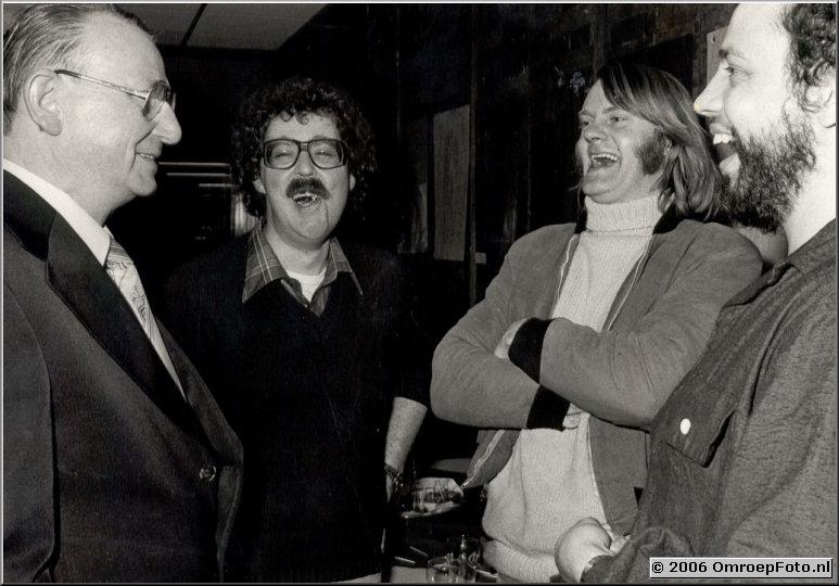 Foto 25-483.Groos, Leo, Jaap en Fred