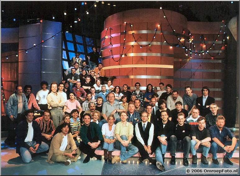 Foto 28-557. 'Van Duin Show' Oa. Ron Roosenberg en Eddy Brinkman