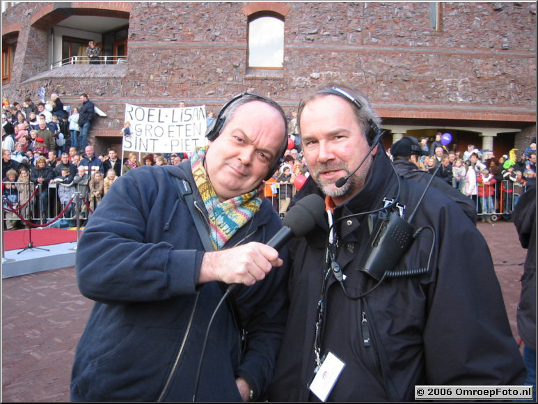 Foto 29-562. SinterKlaas Intocht, Zwolle 2003. Rick en Janus