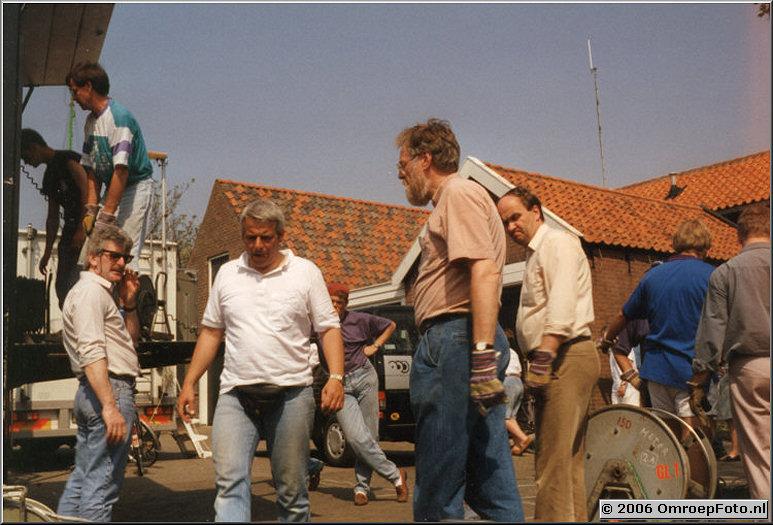 Foto 34-666. Tommy, Bert (Veldmeijer), Gerrit en Johan