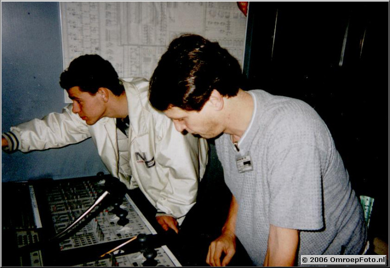 Foto 35-686. Domino Day 1999 Cleo en Kees