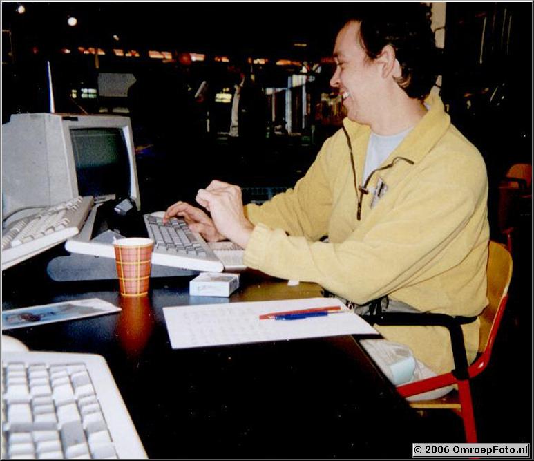 Foto 35-687. Domino Day 1999 Arie