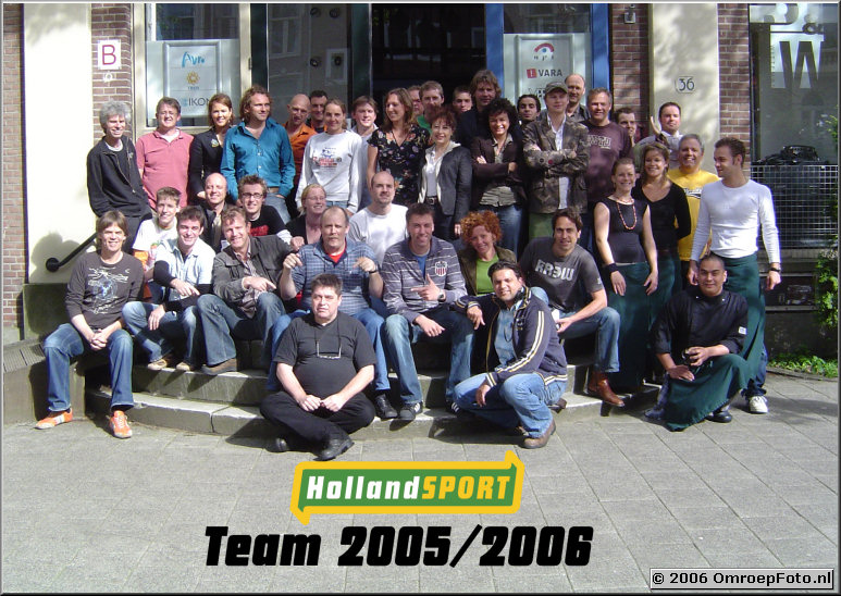 GroepsFoto van Holland Sport