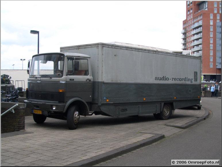 Foto 41-812. Oude audiowagen
