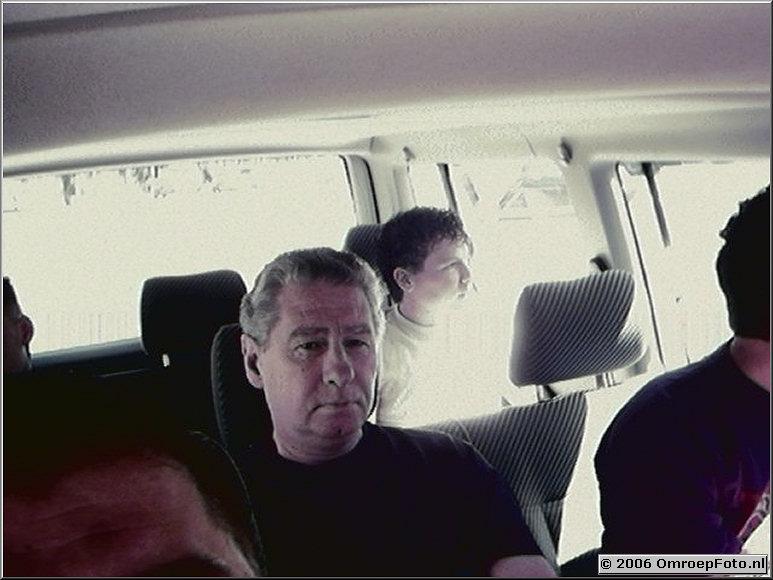 Foto 43-00841. Ton Lodeweges en Martijn Crans op weg naar Rotterdam