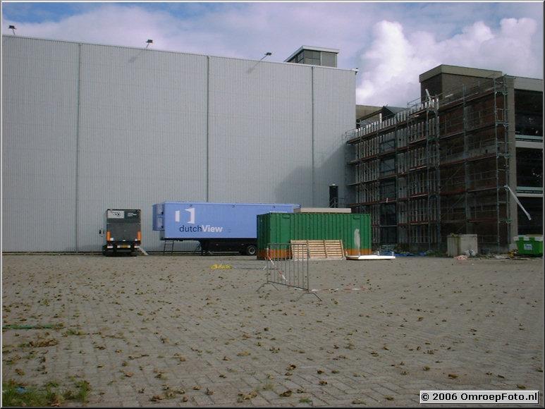 Foto 44-873. 'Hollywood aan de Maas' in aanbouw