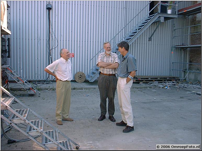 Op deze OmroepFoto : Hugo, Gerrit en Pieter (rechts)
