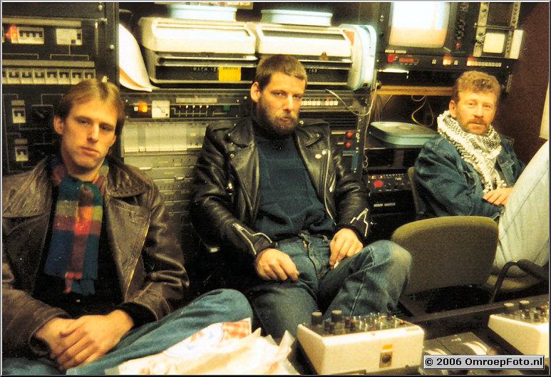 Foto 46-901. Arno Warmerdam, Hans Higler en Tjerk Boersma