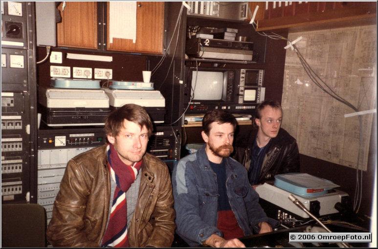 Foto 46-907. Trein-19 Hans Higler, Wim Blommestein, Gerard Rump