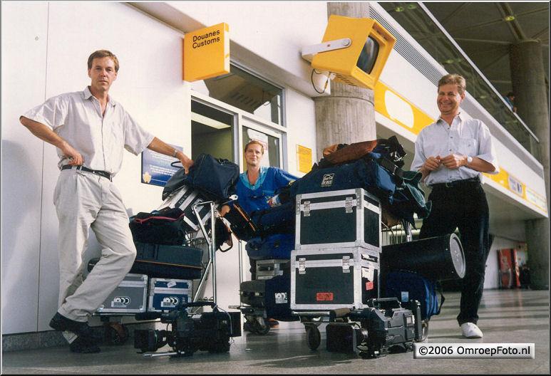 Foto 48-941. 'Op weg naar Montreal 1992 Ernst de Groot (rechts)