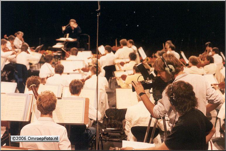 Foto 48-943. Rai concert 1987 met Ricardo Chailly