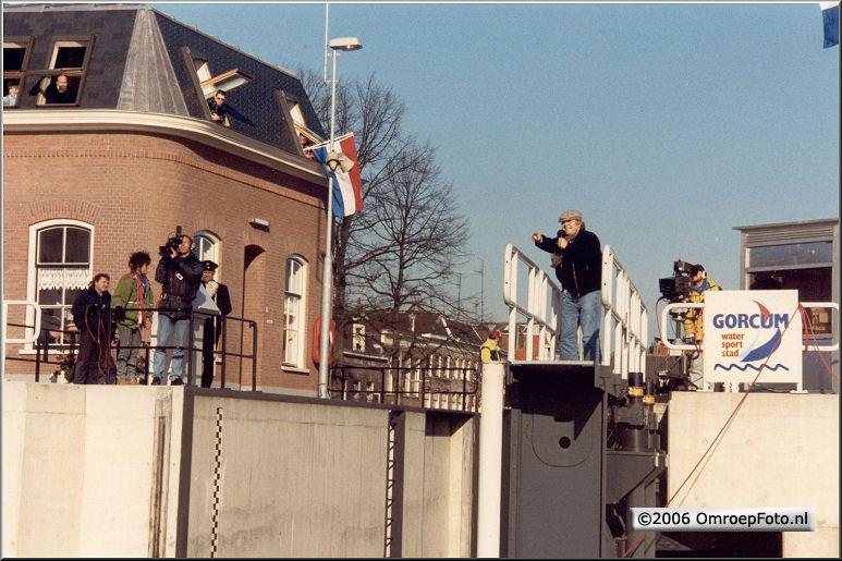 Foto 48-944. Sint in Gorcum 1989 met Aart Staartjes