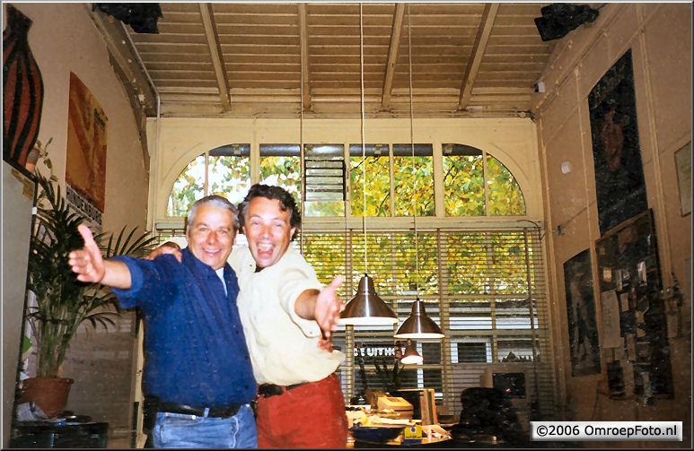 Doos 50 Foto 992 Hans en Enno in Studio Plantage
