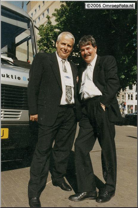 Doos 52 Foto 1034 Hans Veldmeijer en Henny Vreeswijk op Prinsjesdag