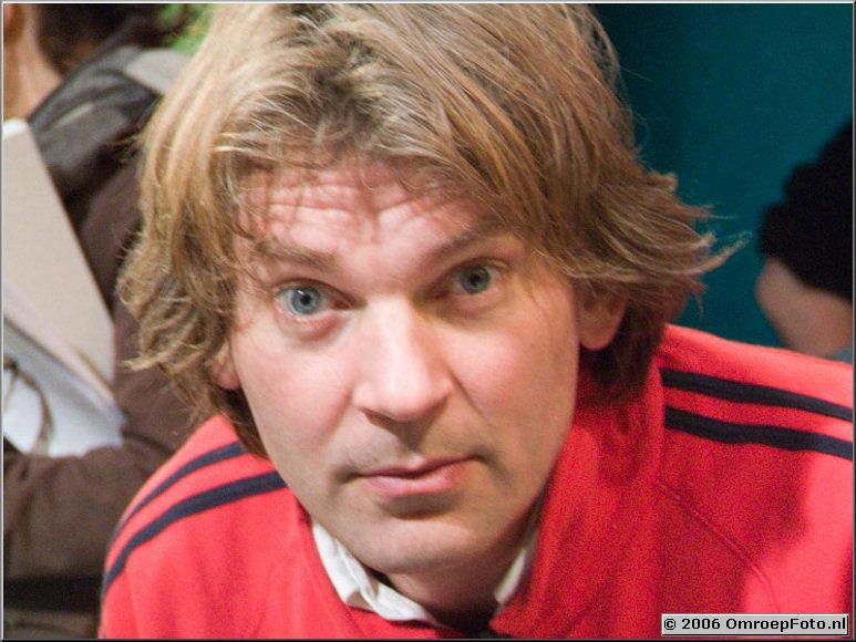 Doos 53 Foto 1054 Mathijs van Nieuwkerk, presentator van 'Holland Sport'