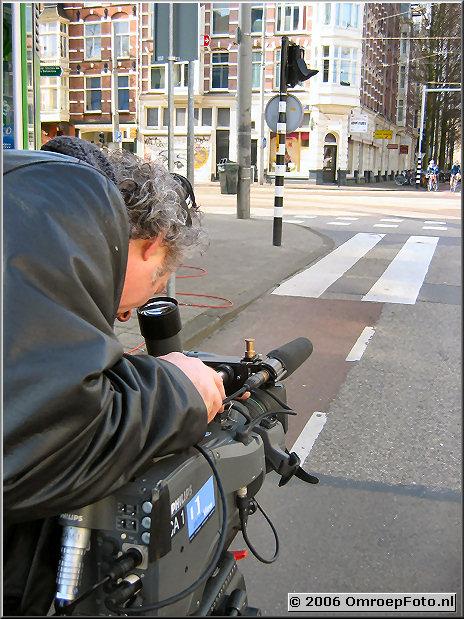 Doos 55 Foto 1083 Buitenopnamen voor de leader van Buitenhof
