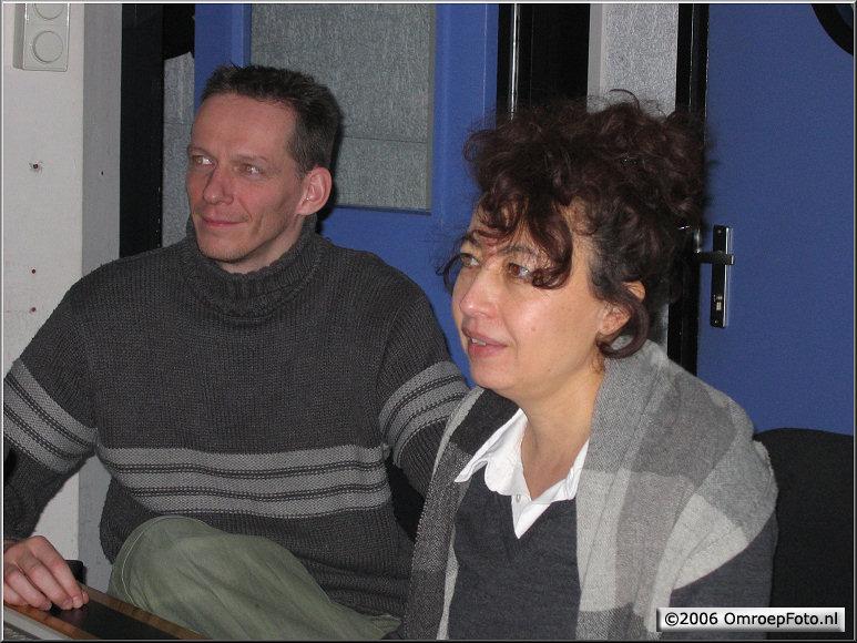 Doos 66 Foto 1314. Arno en Edith in de regie van Studio Plantage