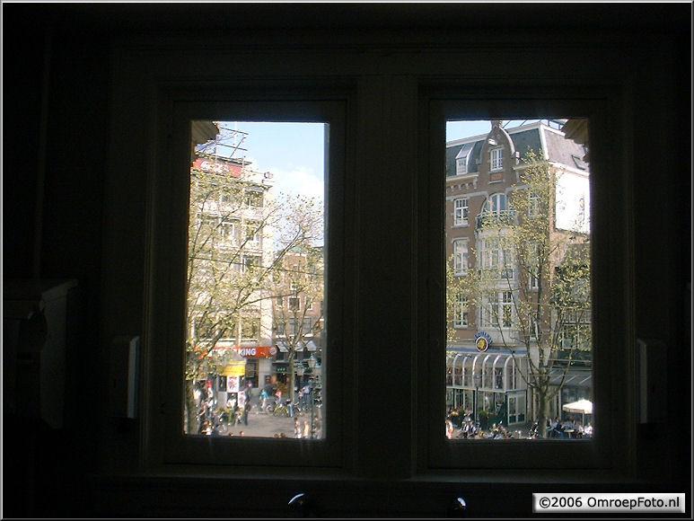 Doos 71 Foto 1401. Toiletuitzicht in de StadsSchouwBurg Amsterdam