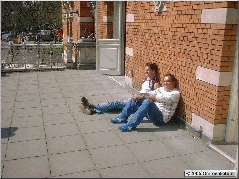 Doos 71 Foto 1410. Uitpuffen in de StadsSchouwburg Amsterdam