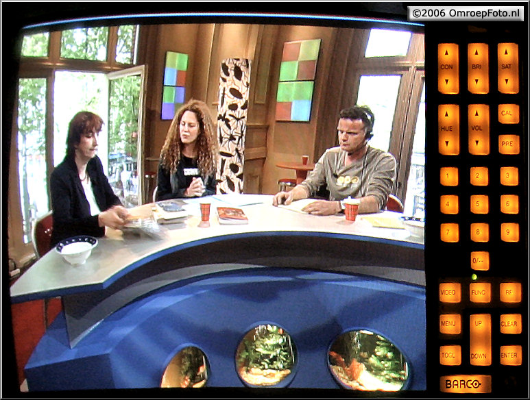 Doos 73 Foto 1452. Repetitie voor TV 3 in de StadsSchouwburg Amsterdam
