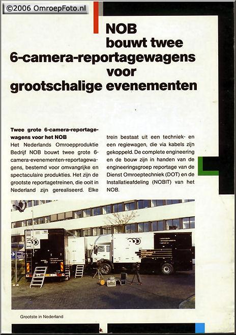 Doos 74 Foto 1472. Folder voor de splinternieuwe treinen in 1989