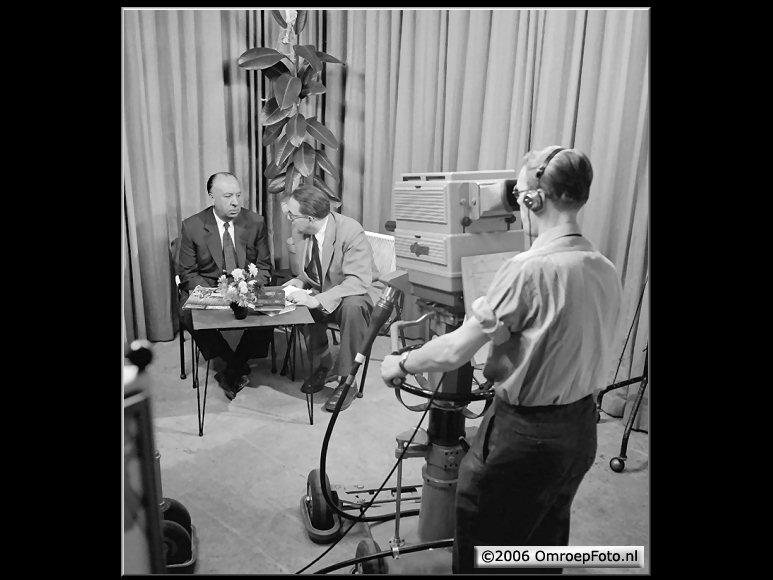 Doos 75 Foto 1493. Hitchcock 10 november 1955