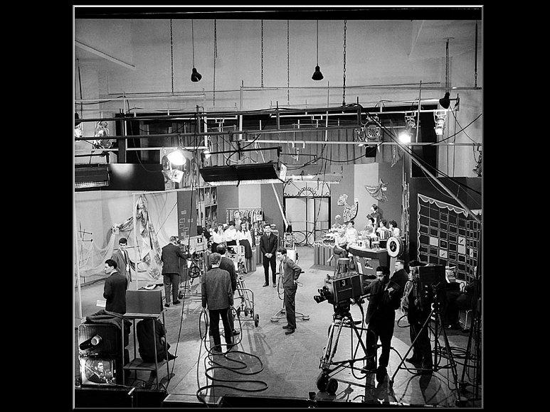 Doos 76 Foto 1510. 'Rudi Carrell Show', 6 april 1962