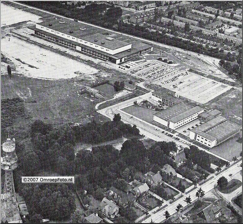 Doos 77 Foto 1528. Het OmroepComplex in 1967