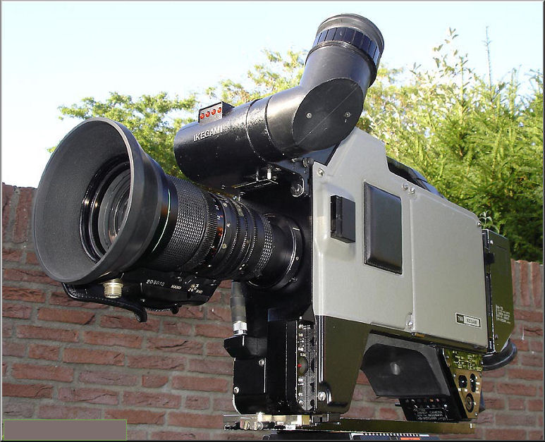 Doos 82 Foto 1627. Ikegami camera. Foto copyright : Marcel van Grinsven www.marcelstvmuseum.com