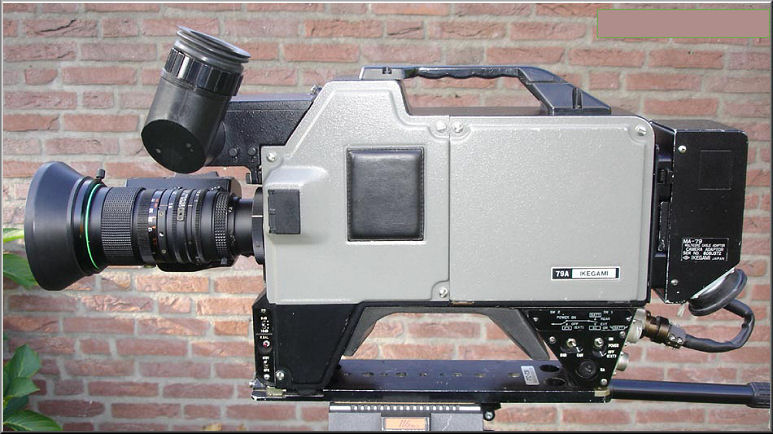 Doos 82 Foto 1628. Ikegami camera. Foto copyright : Marcel van Grinsven www.marcelstvmuseum.com