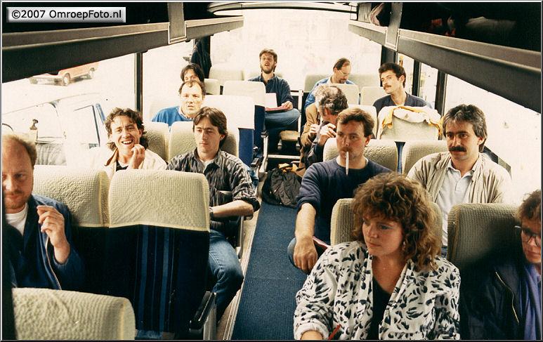 Doos 82 Foto 1637. Nederland Muziekland Met oa. Peter (Peer)Wijlaars,  Roel Deen(overl. maart 1999); naast Joyce Nicole Rood
