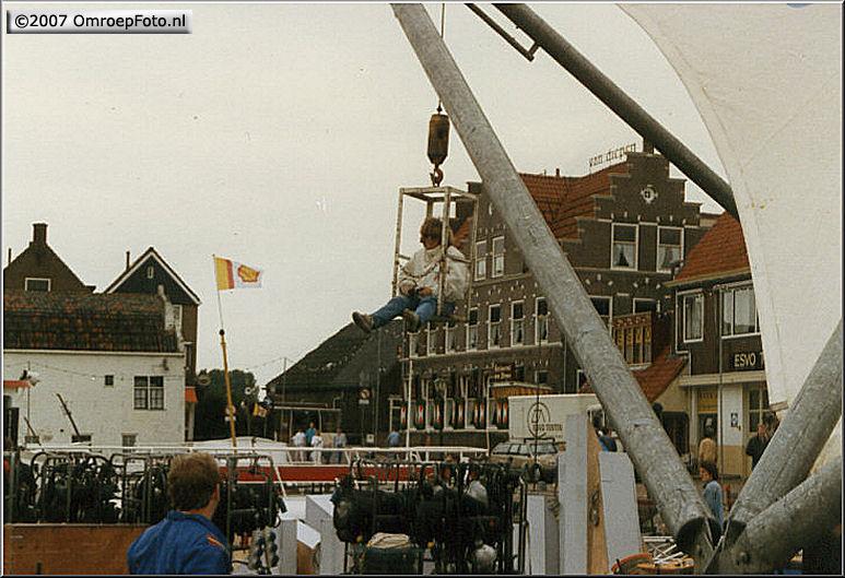 Doos 84 Foto 1673. 'Nederland Muziekland' in Volendam