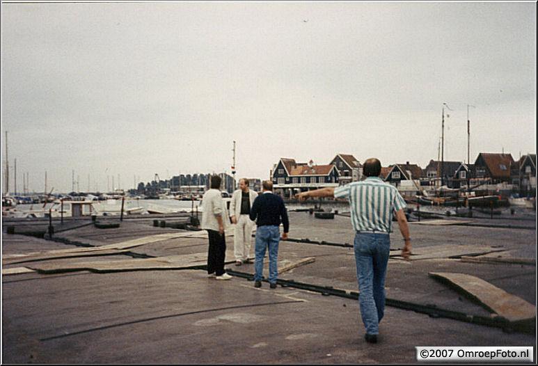Doos 84 Foto 1676. 'Nederland Muziekland' in Volendam
