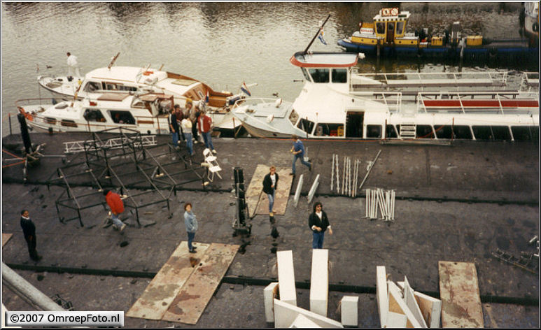Doos 84 Foto 1677. 'Nederland Muziekland' in Volendam