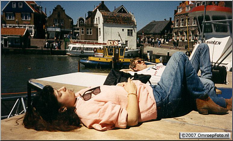 Doos 84 Foto 1678. 'Nederland Muziekland' in Volendam