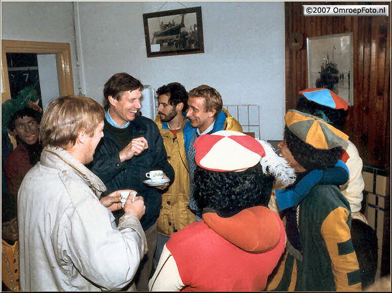 Doos 87 Foto 1737. Sinterklaas 1984 Terschelling