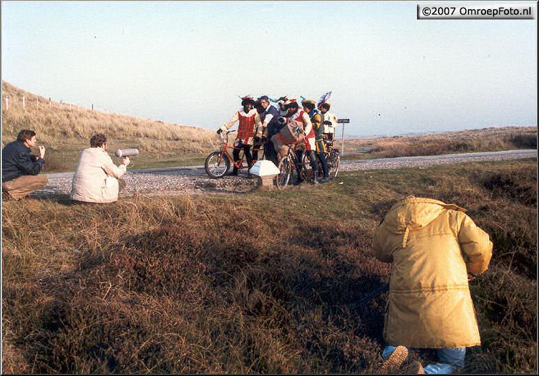 Doos 88 Foto 1745. Sinterklaas 1984 Terschelling