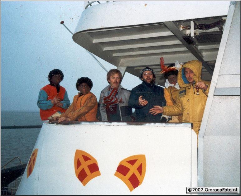 Doos 88 Foto 1750. Sinterklaas 1984 Terschelling