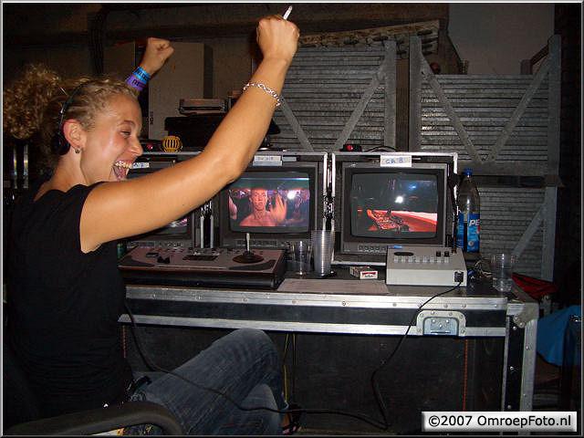 Doos 89 Foto 1775. Martha uit d'r plaat bij Sensation Black 2006