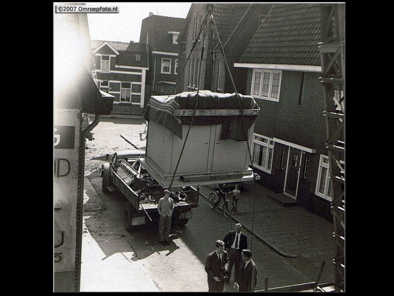 Doos 95 Foto 1896. Ampex Vitus 1964. Nieuwe Ampex recorder