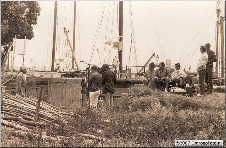Doos 96 Foto 1912. 1986 Rond het IJselmeer met Marco Bakker. Joop en BCN