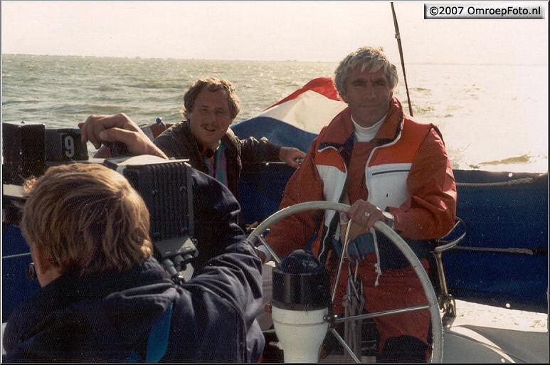 Doos 96 Foto 1914. 1986 Rond het IJselmeer met Marco Bakker