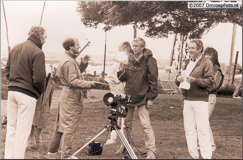 Doos 96 Foto 1915. 1986 Rond het IJselmeer met Marco Bakker