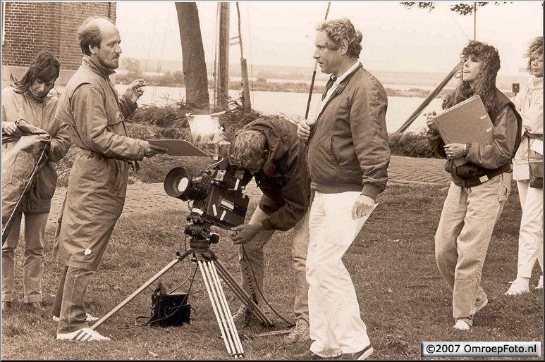 Doos 96 Foto 1916. 1986 Rond het IJselmeer met Marco Bakker