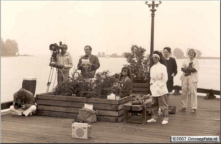 Doos 96 Foto 1917. 1986 Rond het IJselmeer met Marco Bakker