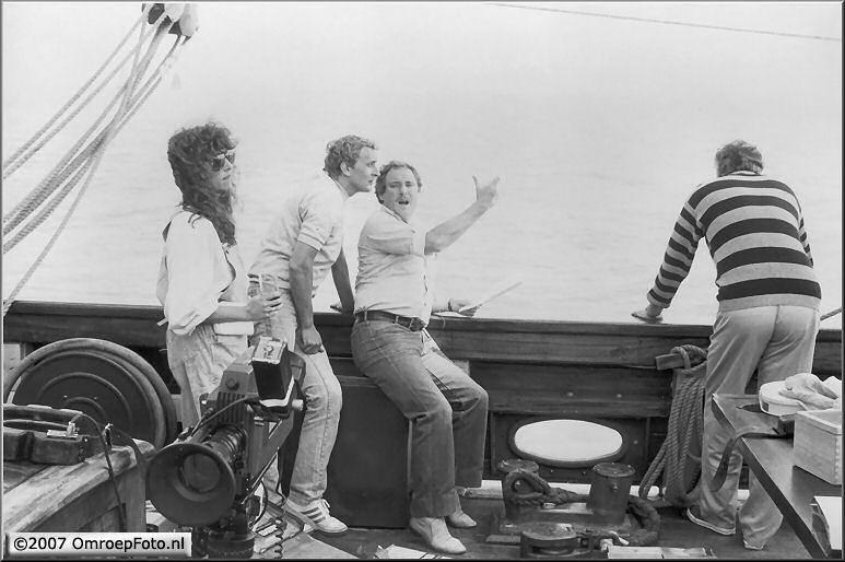 Doos 96 Foto 1919. 1986 Rond het IJselmeer met Marco Bakker