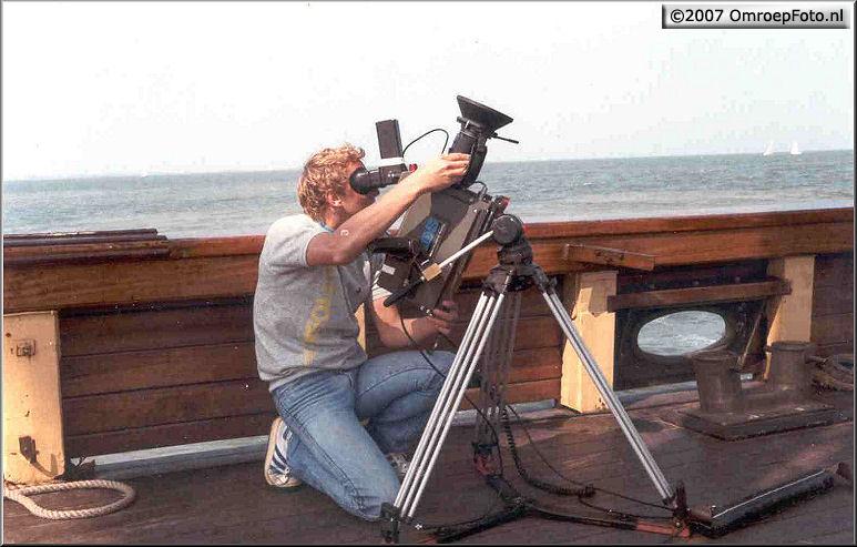 Doos 97 Foto 1924. 1986 Rond het IJselmeer met Marco Bakker