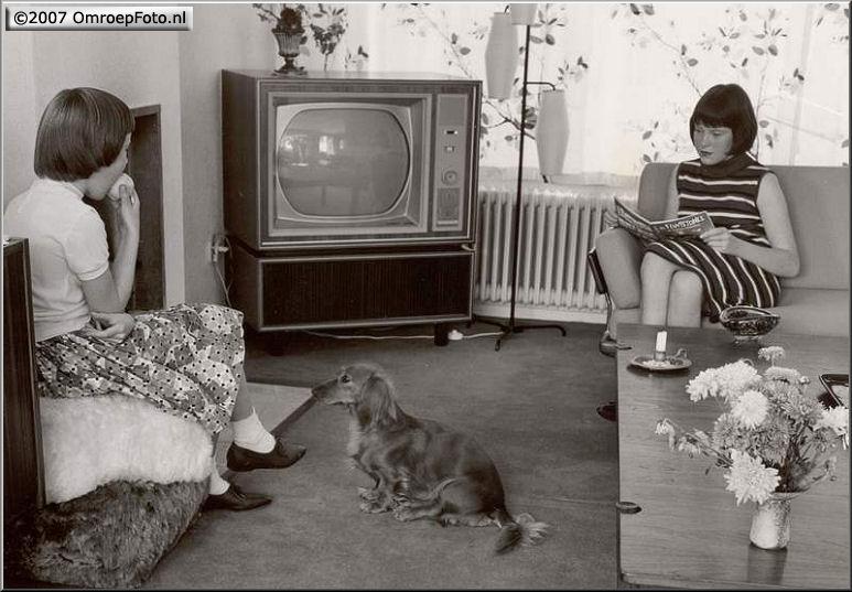 Doos 97 Foto 1925. Experimentele kleuren televisie