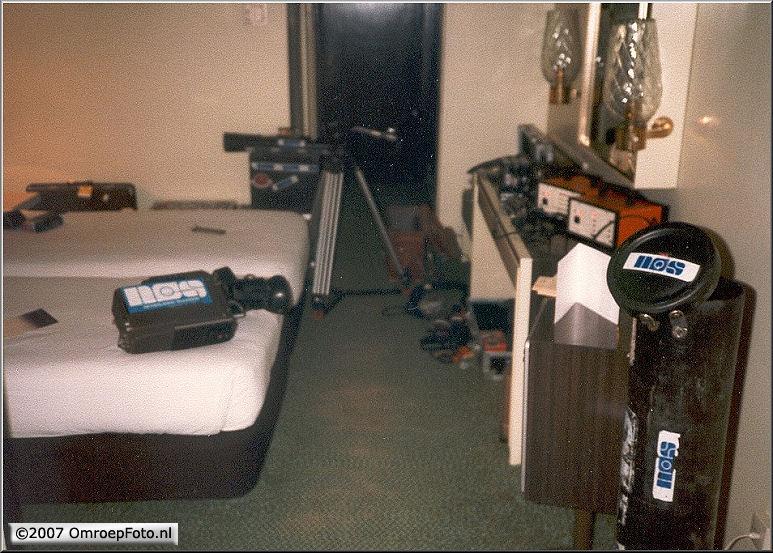Doos 98 Foto 1958. LDK-14 op de hotelkamer