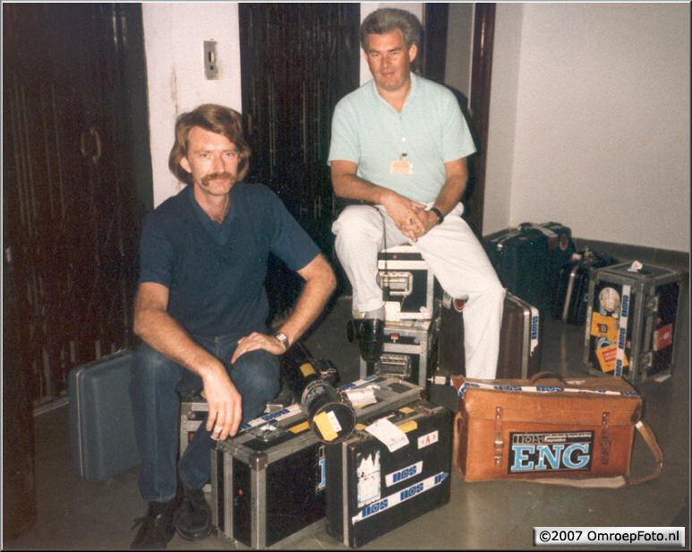 Doos 99 Foto 1962. Roel Brens en Bert van de Broek 1986